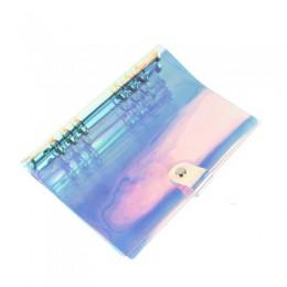 A5 A6 Laser przezroczysty notatnik terminarz organizator Planner papieru wewnętrzna strona segregator pamiętnik Bullet notatnik