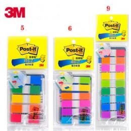 Zdejmowana etykieta wskaźnikowa 683-9CF/6CF/5CF kolorowa etykieta paginacji notatnik kartki samoprzylepne 3M post-it przykładowa