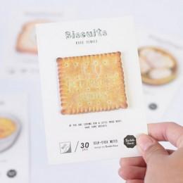 Pyszne śniadanie jedzenie wklej notatnik planner karteczki papierowa naklejka kawaii biurowe pepalaria biurowe artykuły szkolne