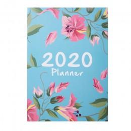 Agendy 2020 Planner Organizer A4 notatnik i czasopisma DIY 365 dni Plan zeszyt Kawaii miesięczny tygodniowy harmonogram pisanie