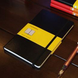 Klasyczne biuro szkoła twarda skóra zespół planner notebook piśmienne, dobrze puste, linii, wykres, przerywana journal książki n
