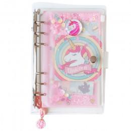 JUGAL 2020 nowy jednorożec A6 tydzień Planner notes spiralny Hand-book Kawaii biurowe dzień planer pamiętnik notatniki notatnik