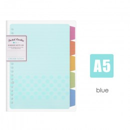 JIANWU japonia KOKUYO Macaron zeszyt luźny liść wewnętrzny rdzeń A5 B5 notatnik pamiętnik plan segregator biuro szkolne segregat