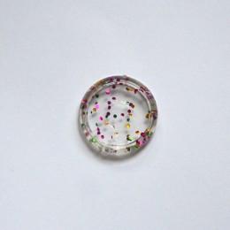 12 szt. Punkt lampy pierścień wiążący przezroczysty dysk wiążący plastikowe okrągłe tarcze przycisk Binder akcesoria klamra grzy