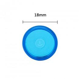 20 sztuk/zestaw 18mm 24mm Multicolor grzyb Hole Disc-binding Loose Book wiążące pierścień Disc Arc wiążące Notebook Arc materiał