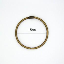 Wysokiej jakości 2/4/5/10 sztuk metalowy pierścień Binder15-76mm DIY albumy luźne liści książki obręcze otwarcie wiążące Supplie