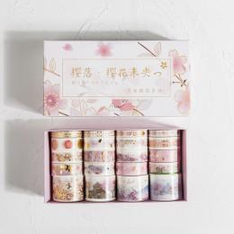 20 sztuk/zestaw Retro boże złoty Bullet Journal zestaw taśm washi klej taśma diy do scrapbookingu etykieta samoprzylepna japońsk