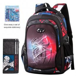 Torby szkolne dla nastolatków Edison moda ultralekka redukcja obciążenia plecak szkolny dla dzieci plecak szkolny dla chłopców d