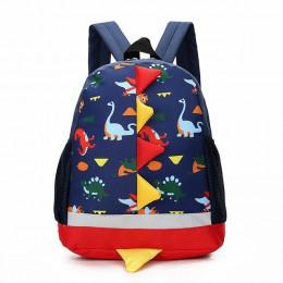 Torba dziecięca Cute Cartoon dinozaur torby dla dzieci przedszkole plecak przedszkolny dla chłopców dziewcząt torby szkolne dla