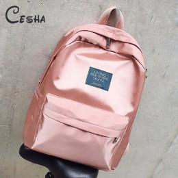 Moda Brillant wodoodporny Nylon studenta plecak szkolny wytrzymałego nylonu chłopca dziewczyny tornister gorąca sprzedaż plecak