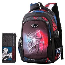 Edison nowy plecak szkolny plecak dla dzieci chłopiec dziewczęcy plecak szkolny seria cud kreskówka torba studencka druk 3D plec