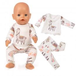 Nowe ubranka dla lalki urodzone dziecko pasuje 18 cali 40-43cm jednorożec kaktus sukienka akcesoria dla lalek ubrania dla dzieck