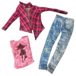 NK 2019 najnowszy ubranka dla lalki moda sukienka odzież na co dzień spódnica suknia wieczorowa dla akcesoria dla lalek barbie n