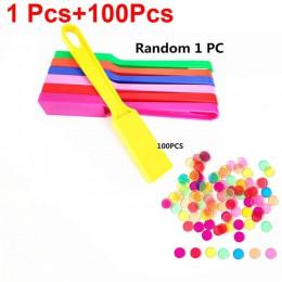 Montessori Learning 1 zestaw zabawki magnetyczne trzymać Wand zestaw z przezroczysty kolor liczenia chipy z metalową pętlą