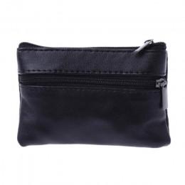 Kobiety męska portmonetka mężczyźni mała torebka portfel zmień torebki Zipper worki na pieniądze dzieci mini portfele skórzany n
