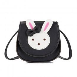 Monsisy 2019 portmonetka dziewczęca torebka dziecięca portfel małe pudełko na monety torba Cute Rabbit Kid portfel torba na rami