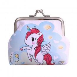 Torebki damskie zwierzęta portmonetki Holder Girls Kawaii portfele i torebki Mini zmień portfel woreczek dziecięcy torebka na su