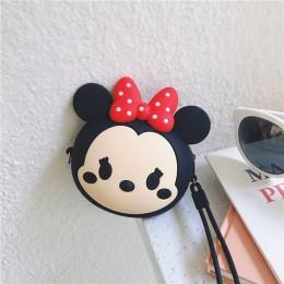 Mini Cartoon 3D żel krzemionkowy moneta torebka Cute kobiet mała kopertówka dla dziewczynek prezent dla dzieci brelok torby kosm