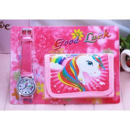 Jednorożec dzieci zegarek cyfrowy zegarek portfel dla dzieci dziewczyny zegarki śliczne jednorożec dziewczyna zegar dzieci zegar