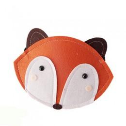 Monsisy ładna dziewczyna królik/Fox monety kiesy dzieci portfel chłopiec małe drobne torebka Kid torba dziecko pieniądze torebka