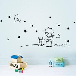 Popularna książka bajka mały książę z Fox Moon Star home decor naklejka ścienna do pokoje dla dzieci dziecko dziecko prezent uro