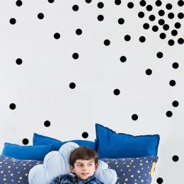 1 arkusz 3/4/5cm Polka kropki okręgi zdejmowane naklejki ścienne z winylu dla dzieci dzieci dla dzieci tapeta do sypialni wystró