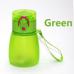 Wiatr kwiat 320ml dziecko pipeta butelka wody z liną do przenoszenia i zapobiegania wyciekom plastikowa butelka wody dla dzieci