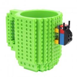 350ml DIY klocki budowlane zabawka kubki na mleko kubki do kawy kompatybilny Legoings kreatywny zestaw Enlighten zabawki na prez
