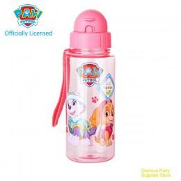 Oryginalna łapa Patrol dziecko dzieci dzieci szkoła woda pitna butelka z rurką PUPPY PATROL przyssawka 500ML chłopiec dziewczyna