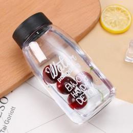 Duża pojemność 500 ml plastikowa butelka wody dzieci student butelki sportowe kreatywna butelka na sok butelka wody