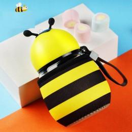 RUIDA Cartoon mała pszczółka biedronka butelka wody dla dzieci studenci dzieci pić butelka wody prezent urodzinowy dla dzieci bu