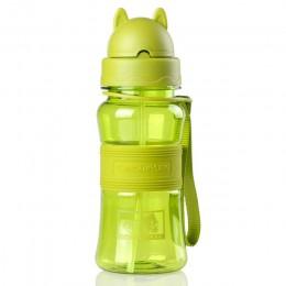 300ml moja butelka do picia wody ze słomką do szkoły dzieci dzieci dziecko śliczne plastikowe przenośne sportowe kubek podróżny