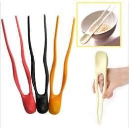 Zastawa stołowa Pauzinhos Palillos ZT 2 w 1 domu podwójnego zastosowania długie pałeczki Novetly dzieci nauka łyżka Chopstick