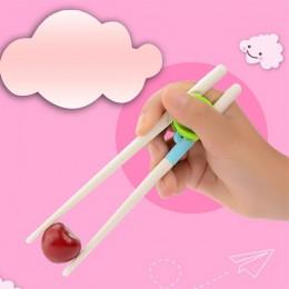 1 para nowy styl osób w wieku 2 + dzieci pałeczki dzieci dziecko nauka szkolenia pałeczki na prawą rękę dla dzieci w domu produk