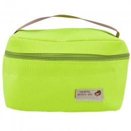 1Pc płótno poliester Nylon folia izolowana torba na Lunch termiczny pasek duże torba z rączkami Cooler jedzenie na piknik pudełk