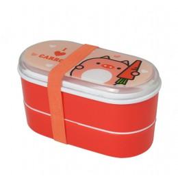 6 kolorów Cartoon przenośne pudełko na Lunch kuchenka mikrofalowa pudełka Bento pojemnik na Lunch pojemnik na Lunch dla dzieci L