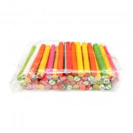 10 sztuk/zestaw plastry owoców Fimo dla Slime dostaw/paznokcie sztuka porady glina sztuczny owoc plastry kije Slimes zabawki Liz