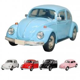 Najnowszy przyjazd faroot 2019 Vintage Beetle Diecast samochód z napędem pull back zabawkowy model dla dzieci prezent Decor ślic