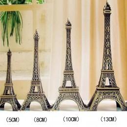 5-13cm brązowy wieża metalowe rzemiosła figurka statua Model domu dekory pamiątkowe Model dla dzieci zabawki dla dzieci ozdoby