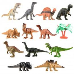 12 sztuk mini dinozaur zestaw zabawek figurki miniaturowe realistyczne zabawki figurki dinozaurów dla dzieci maluch edukacja dzi