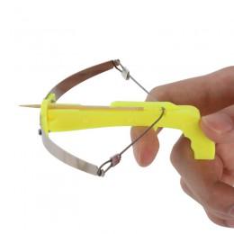 Mini wykałaczka krzyż łuk strzelanie zabawki DIY Kid polowanie zabawki najlepszy prezent dla dzieci z 100 sztuk wykałaczki