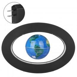 Elektroniczny antygrawitacyjny globus lewitacja magnetyczna pływający globus z mapą świata z oświetleniem LED do postawienia w d