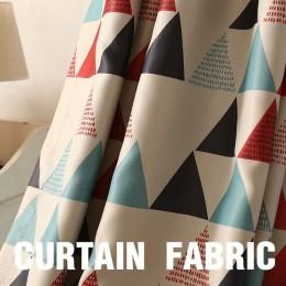 Top Finel Brand nowy geometryczny zasłony zaciemniające do sypialni pokój dzienny pokój dziecięcy luksusowe eleganckie grube zas