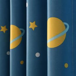 Top Finel najnowszy styl planeta i wzór gwiazdy zasłony dla dzieci dziecko dzieci pokoju zasłony Cortinas zasłony zaciemniające