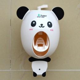 Praktyczne silne ssanie Sucker Funny Cartoon łazienka uchwyt na szczoteczki do zębów gospodarstwa domowego dzieci automatyczny d
