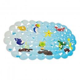 Wielofunkcyjna mata do kąpieli/pcv do maty do kąpieli maty antypoślizgowe dla dzieci i prysznic koralowa ryba