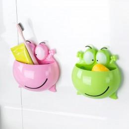 Wytnij zwierzęcy silikonowy pojemnik na szczoteczkę do zębów dzieci uwielbiają zestaw rodzinny ścienny wieszak do łazienki z prz