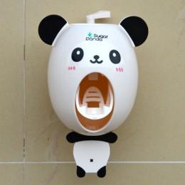 Praktyczne silne ssanie Sucker Funny Cartoon Style łazienka gospodarstwa domowego uchwyt na szczoteczki do zębów dzieci automaty