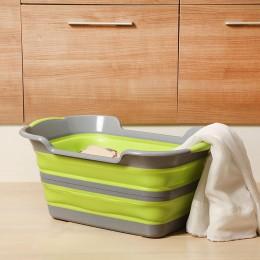 60X40X27.5 (7) cm Multifuntional dzieci Wash Tub ubrania domowe torby baryłkę kosz składany zabawki rozmaitości pojemnik Pet wan