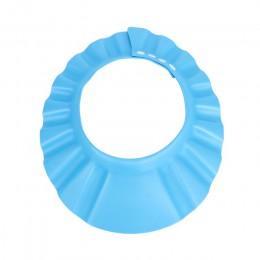 Dla dzieci czepki kąpielowe zatyczka do szamponu do mycia włosów do kąpieli dla dzieci czapki z daszkiem regulowany tarcza wodoo